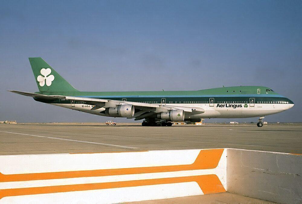 Aer Lingus Boeing 747