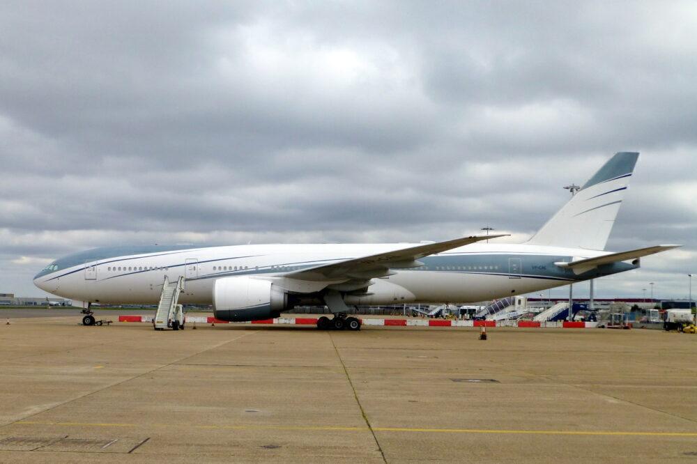 VIP Boeing 777