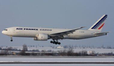 Air France Boeing 777F