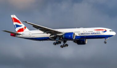 British Airways Boeing 777-200ER