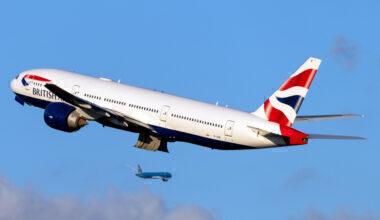 British Airways Boeing 777-236(ER) G-VIIB