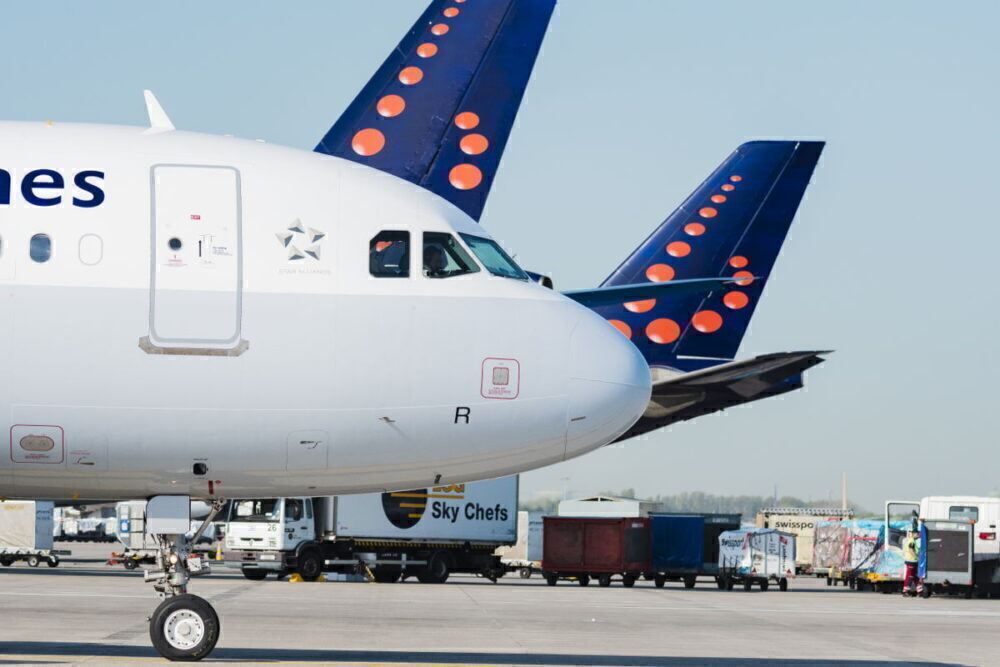 Brussels Airlines Aircraft