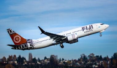 Fiji Airways Boeing 737 MAX