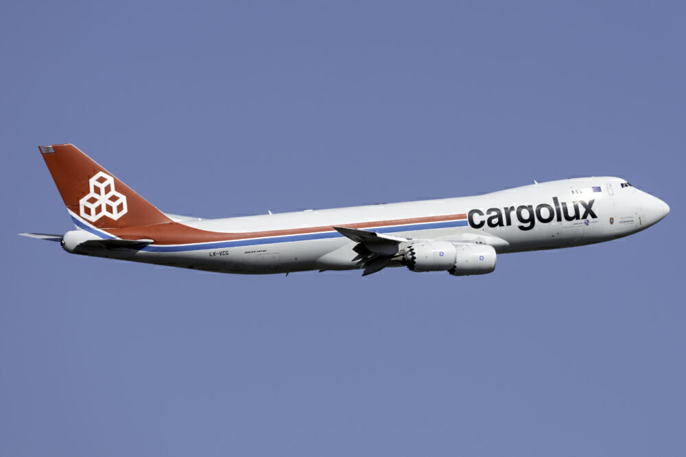 Cargolux Boeing 747-8R7(F) LX-VCG