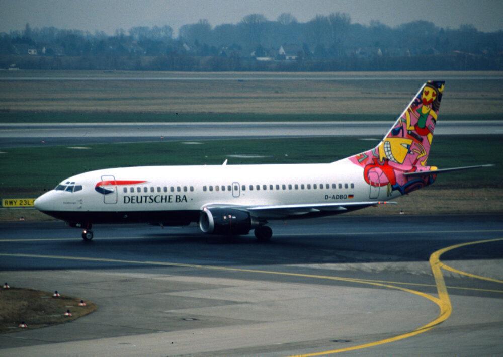 Deutsche BA Boeing 737