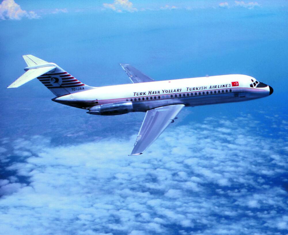 Turkish Airlines DC-9