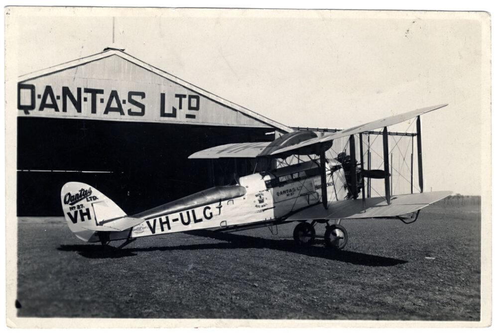 Qantas DH50