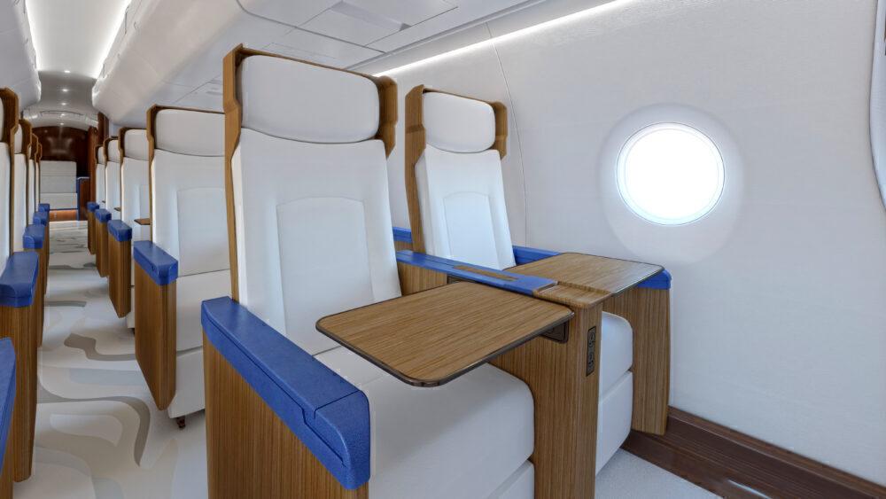 Exosonic Jet Cabin