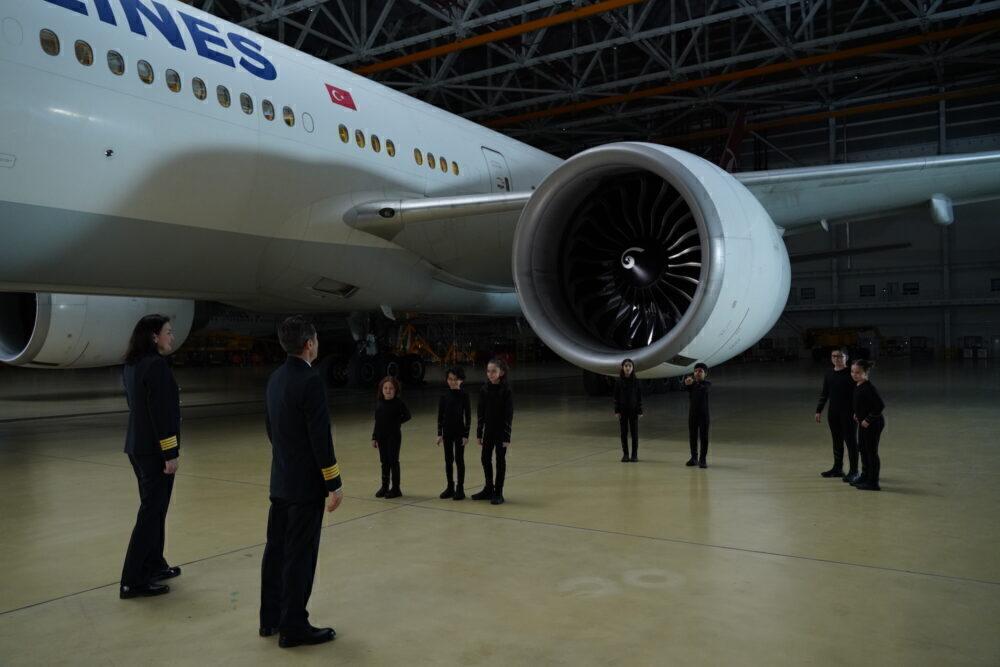 Turkish Airlines Child Pilots