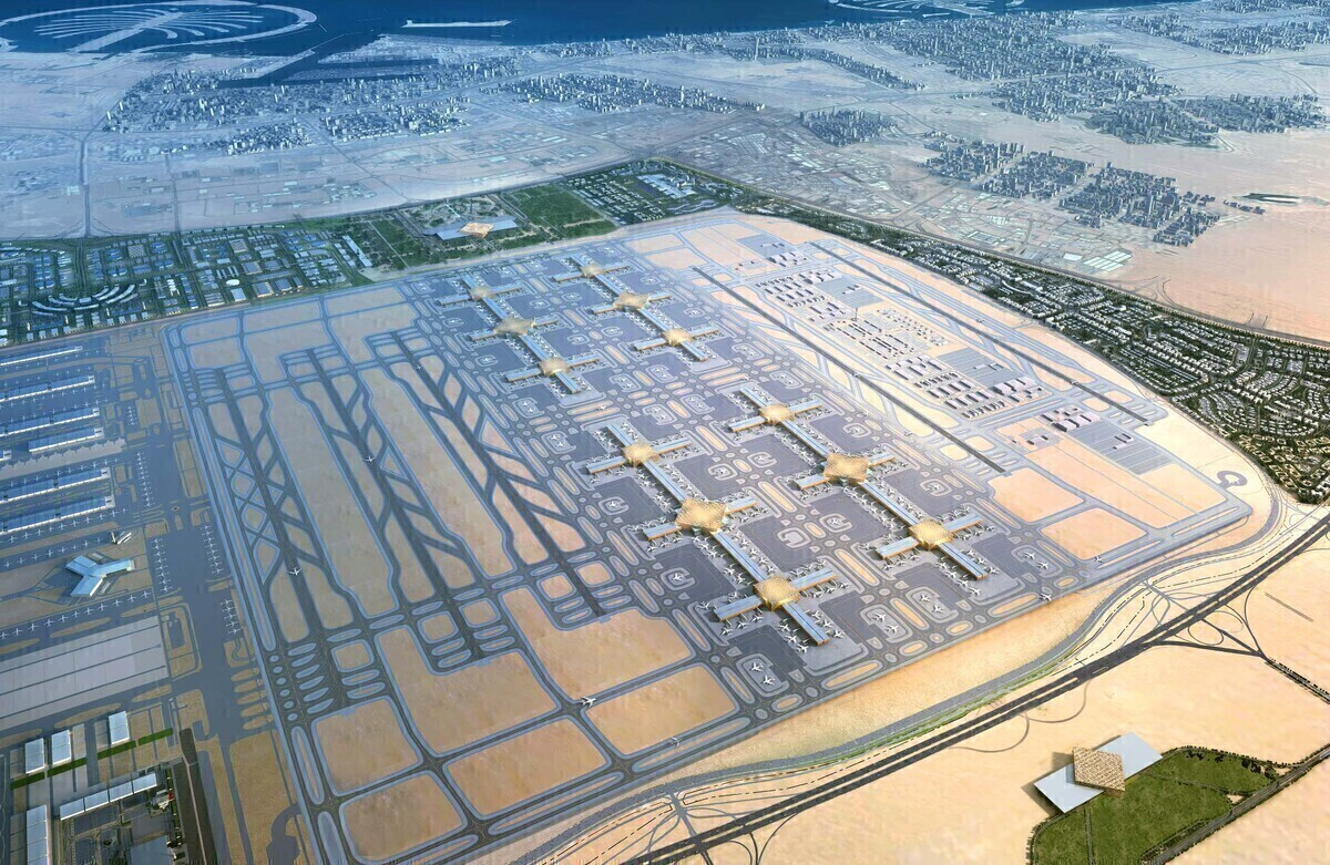 Overview of the DWC Airport plans