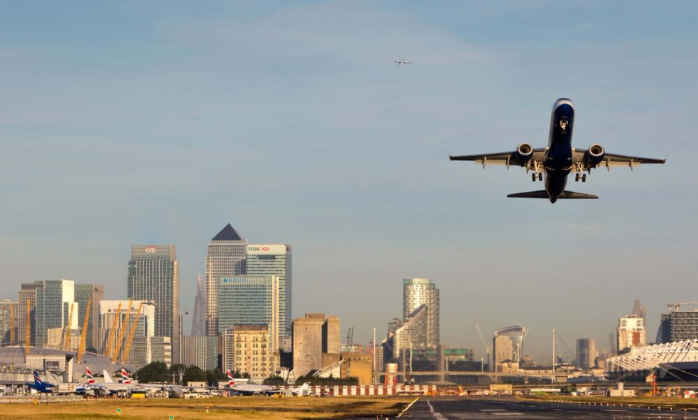 Which Aircraft Can Land At London City Airport?