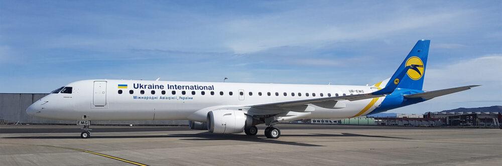 Ukraine International Airlines Embraer E195