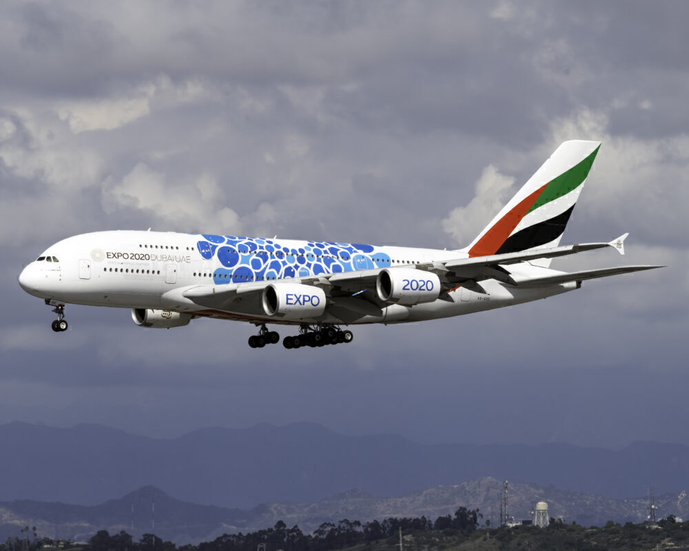 Emirates (Expo 2020 - Mobility Livery) Airbus A380-861 A6-EOC