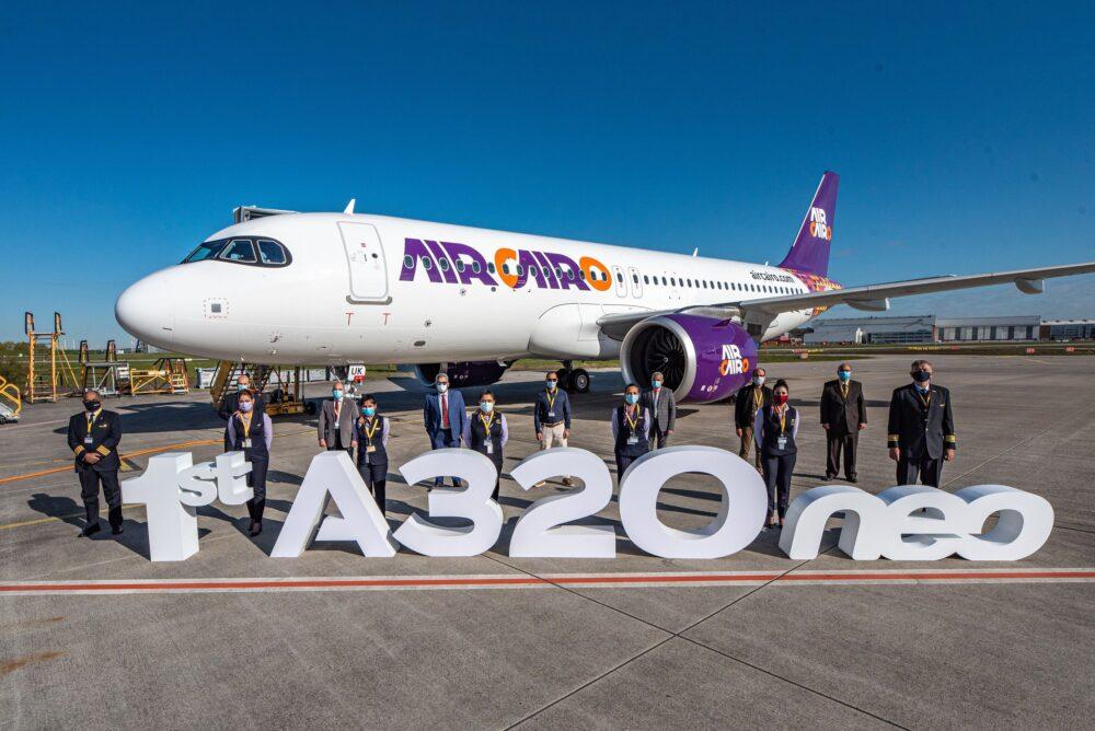 Air Cairo First A320neo