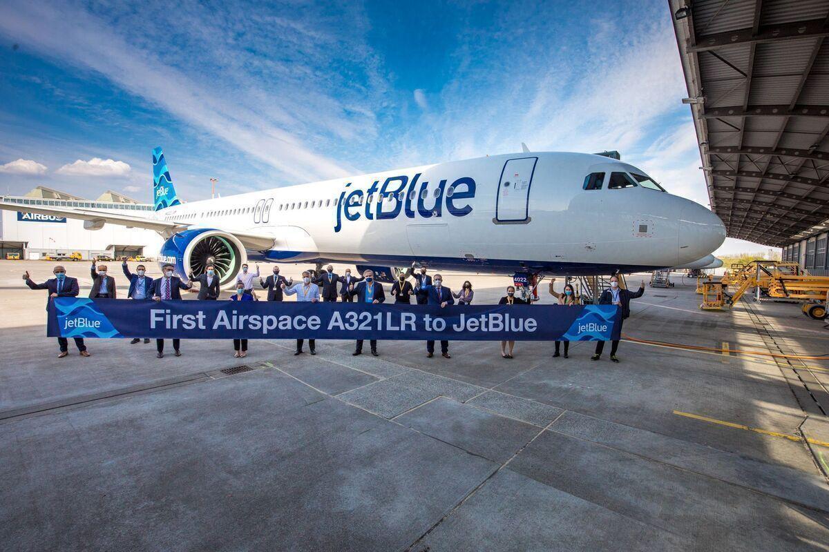 Airbus A321LR, JetBlue, Transatlantic Flights
