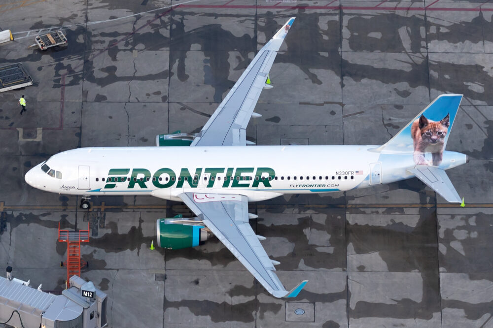 Frontier has 34 routes from Miami