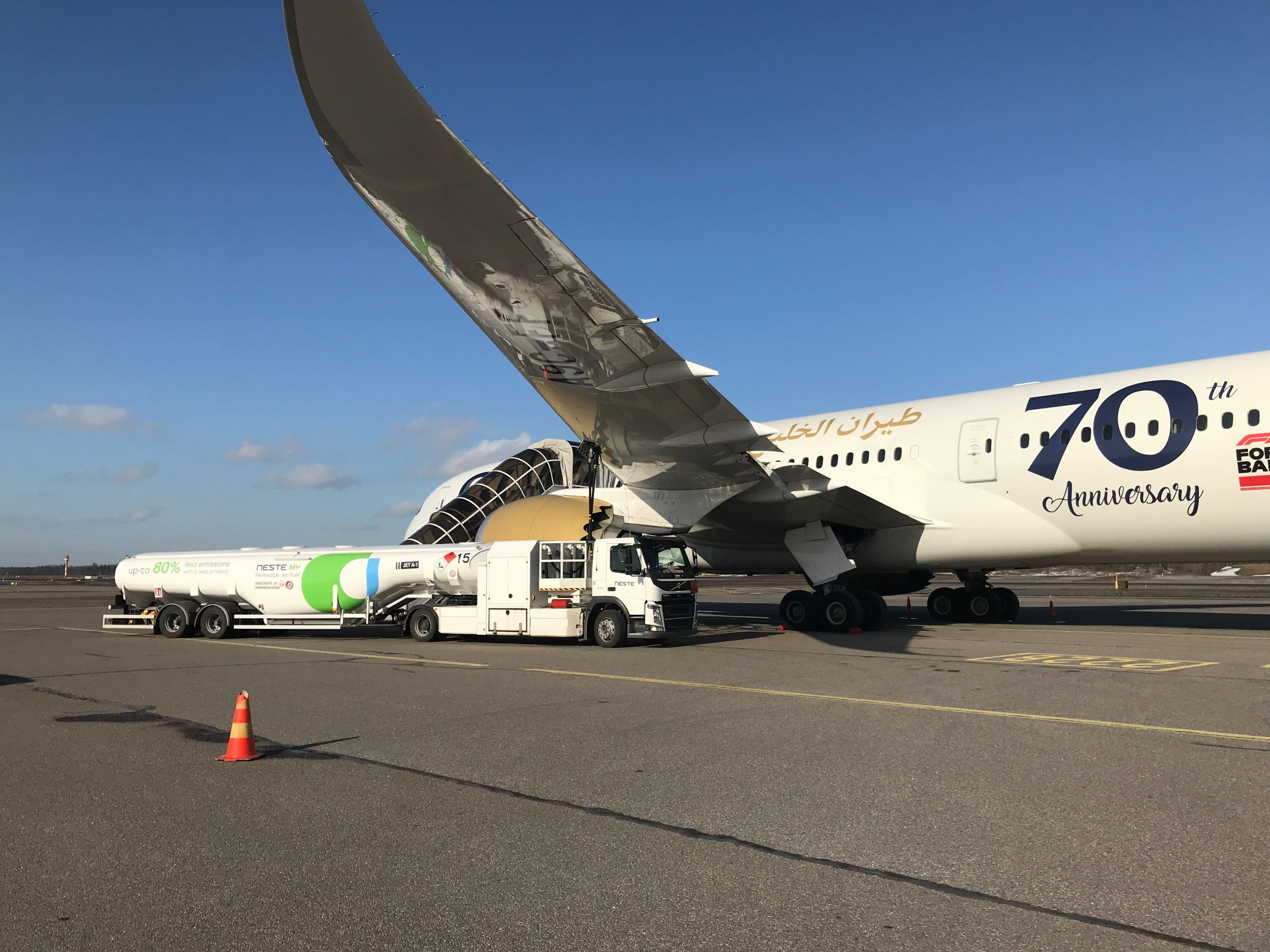 Gulf Air, Boeing 787, Sustainable Aviation Fuels