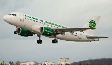 Germania Airbus A319 Getty