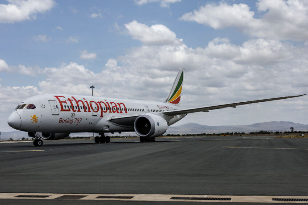 Ethiopian Airlines Boeing 787 Getty