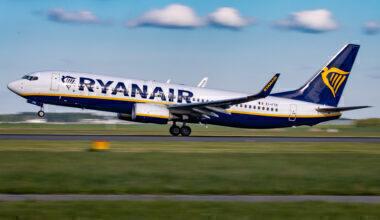 Ryanair Boeing 737 In Amsterdam