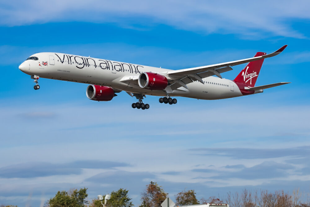 Virgin Atlantic Airways Airbus A350