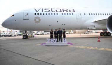Vistara Boeing 787