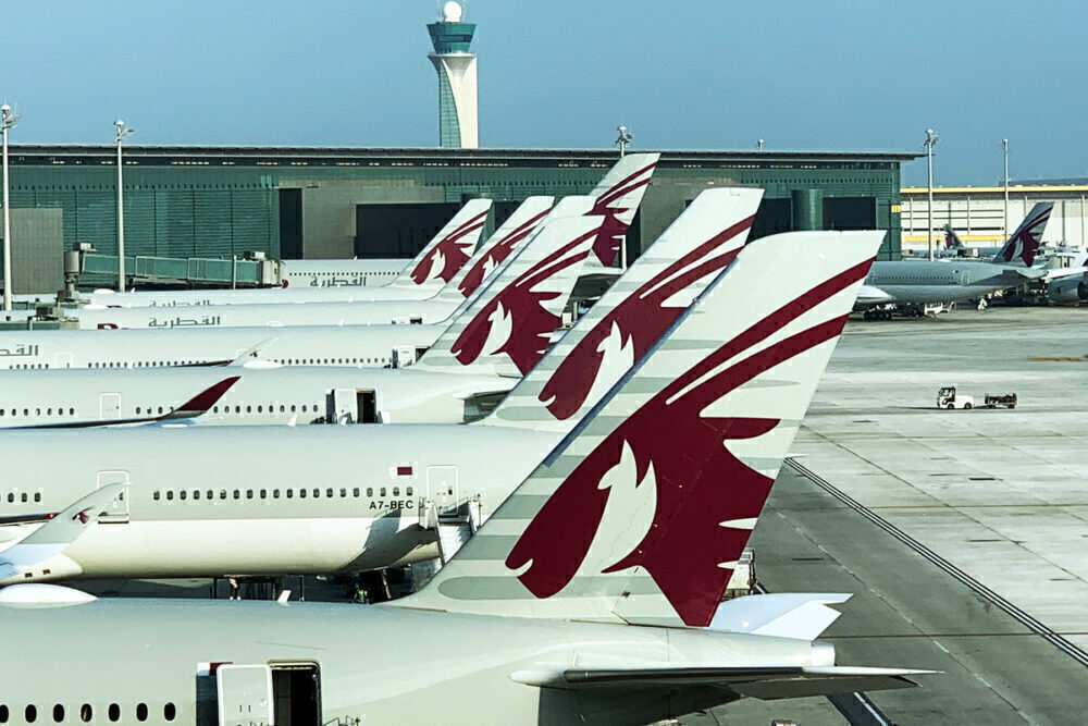 Qatar Airways hub in Doha