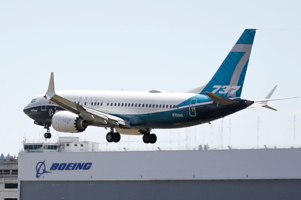 Boeing 737 MAX Getty