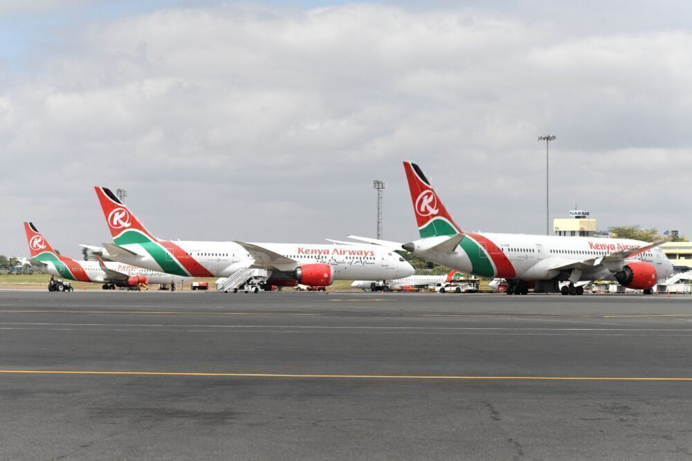 Kenya Airways at Nairobi