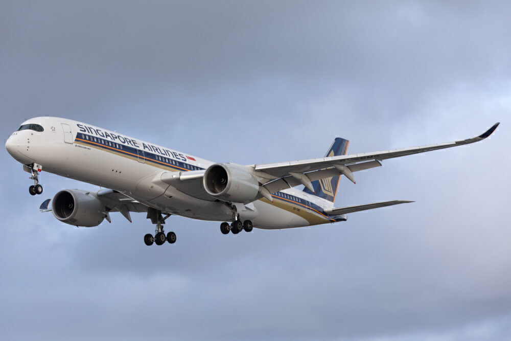 Singapore Airlines Airbus A350 Getty