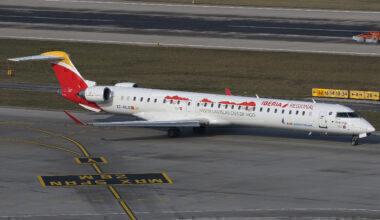Iberia Regional Mitsubishi CRJ-1000 Getty