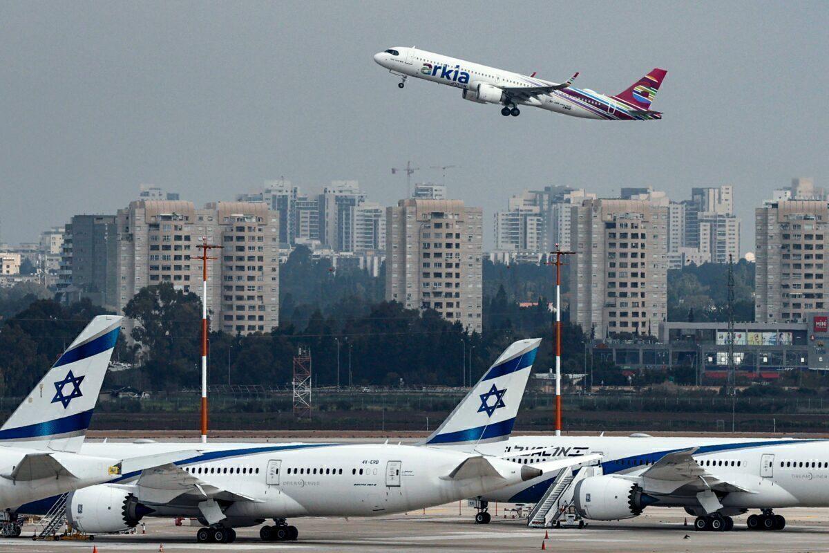 ISRAEL-HEALTH-VIRUS-TRANSPORT-AVIATION Getty