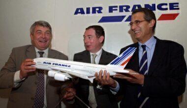 FRANCE-AVIATION-AIRSHOW-AIRBUS-AIR FRANCE