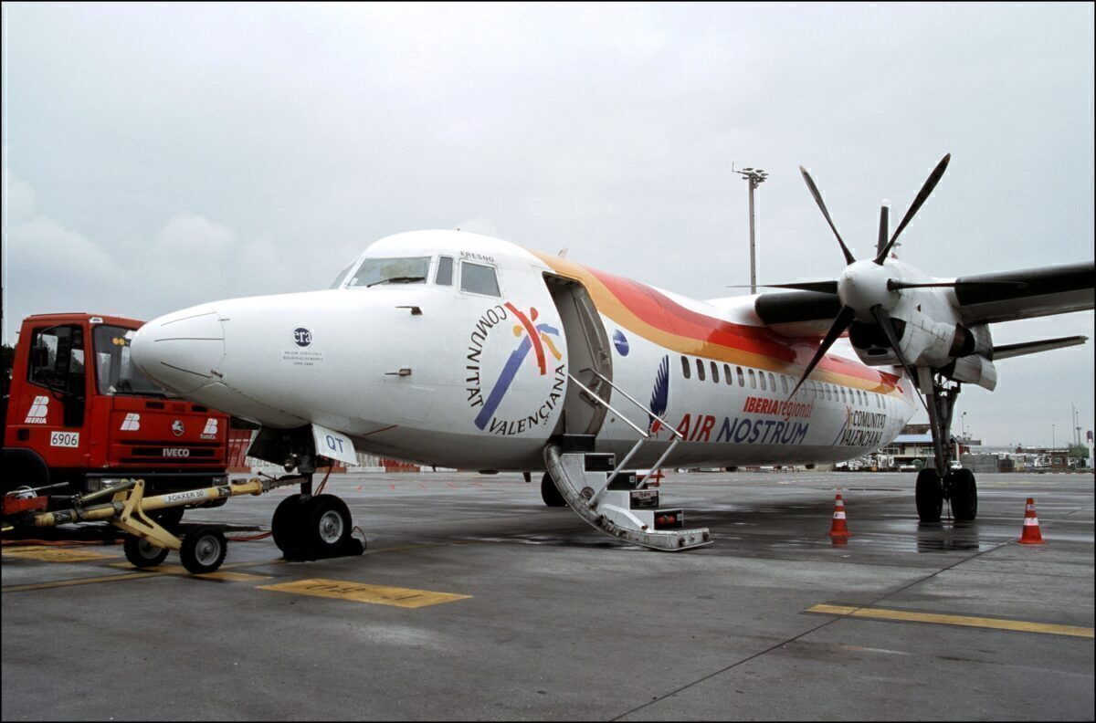 Air Nostrum ATR-72 Getty