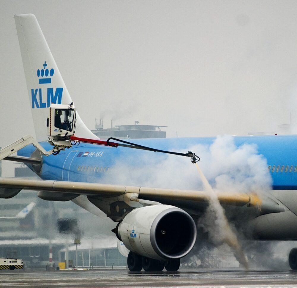 Deicing KLM