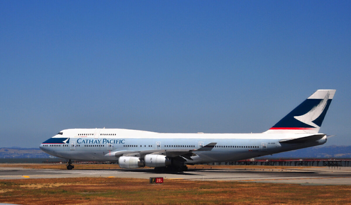 What Happened To Cathay Pacific's Passenger Boeing 747s?