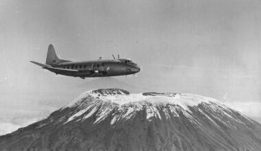 Vickers Viscount Mountain