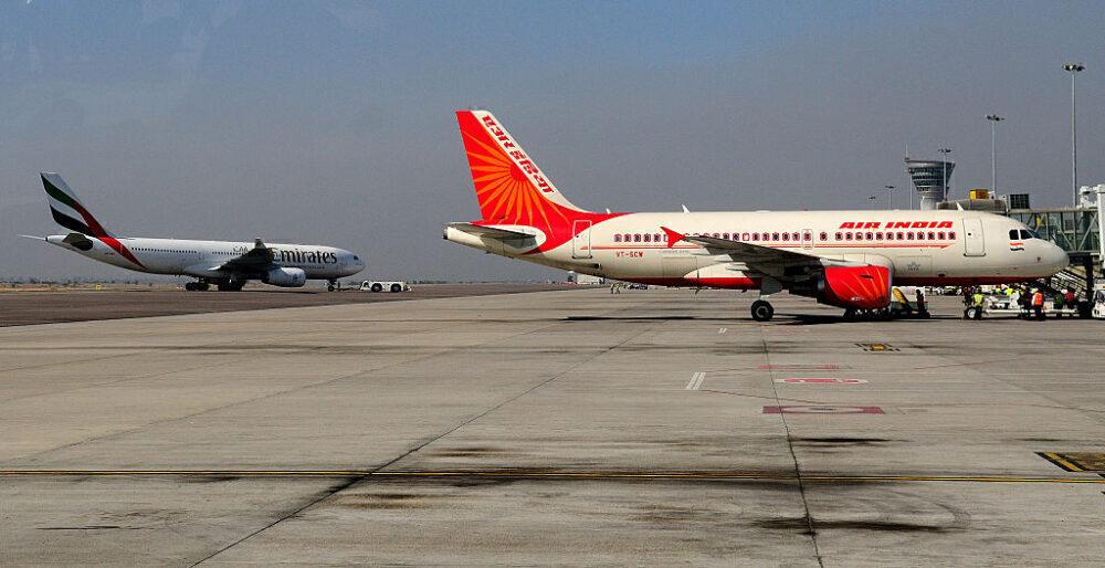 Air India Emirates Getty
