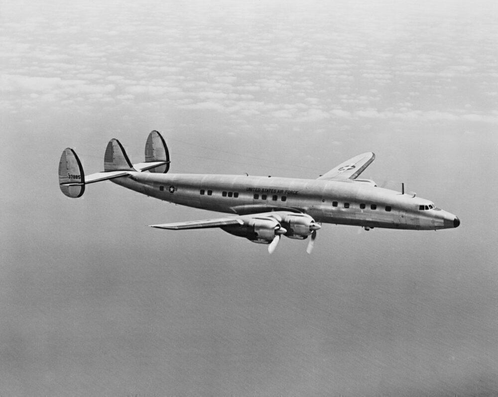 Presidential Plane Columbine III in Flight