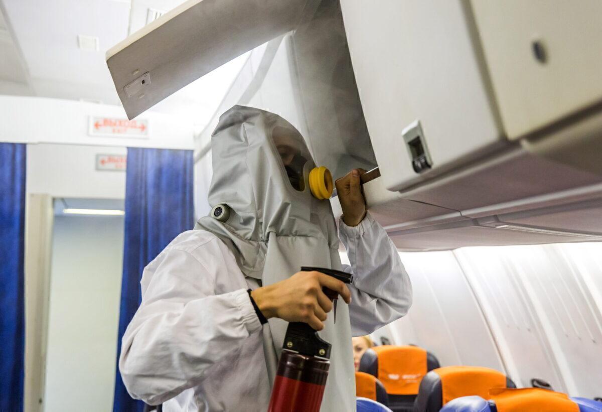 How Do Flight Crew Handle Fires In The Passenger Cabin?