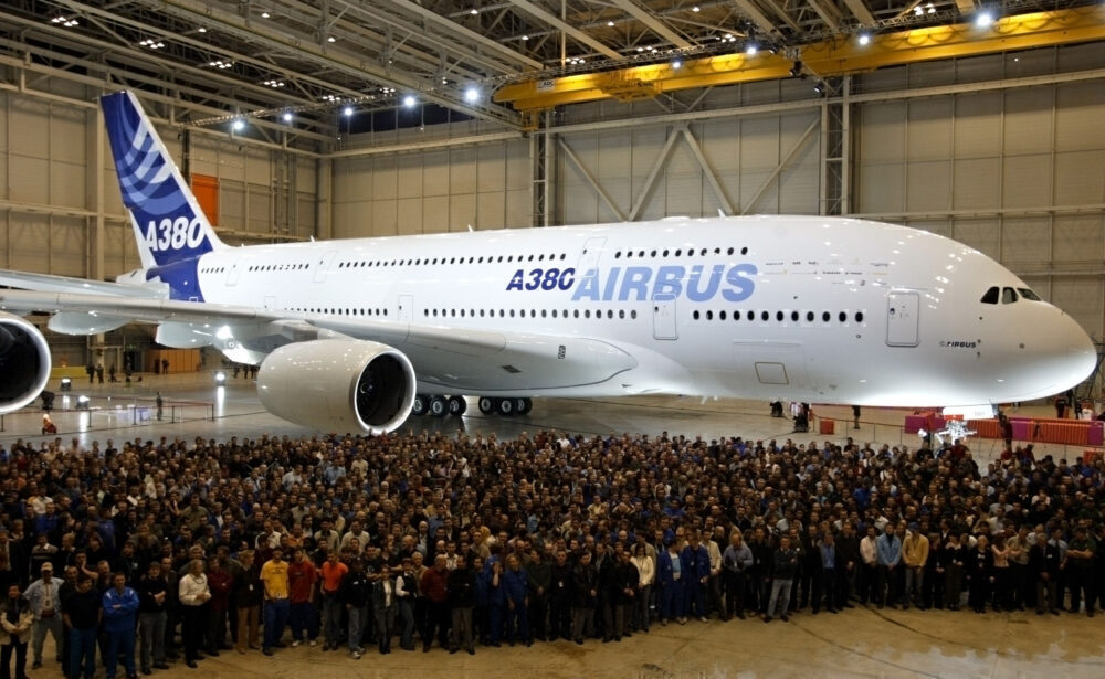 Airbus A380 Getty