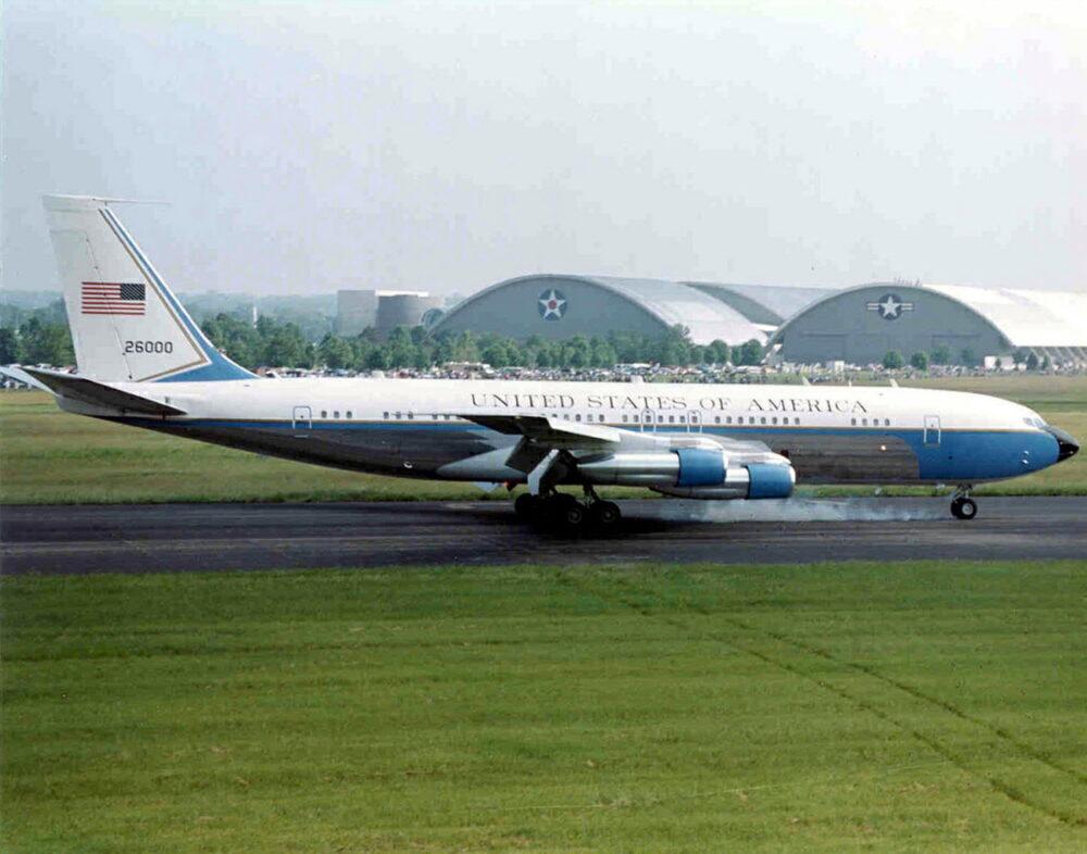 A Boeing VC-137C SAM 26000.