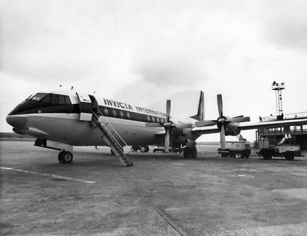 What Was The Vickers Vanguard Turboprop?