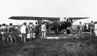 Bellanca Skyrocket Monoplane Before Record Flight Over Pacific