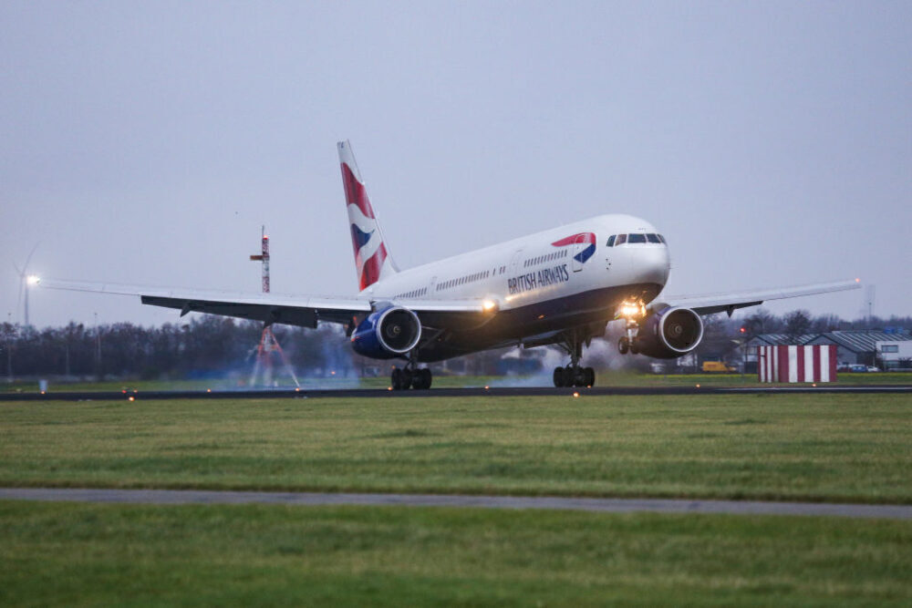 British Airways Boeing 767 Getty