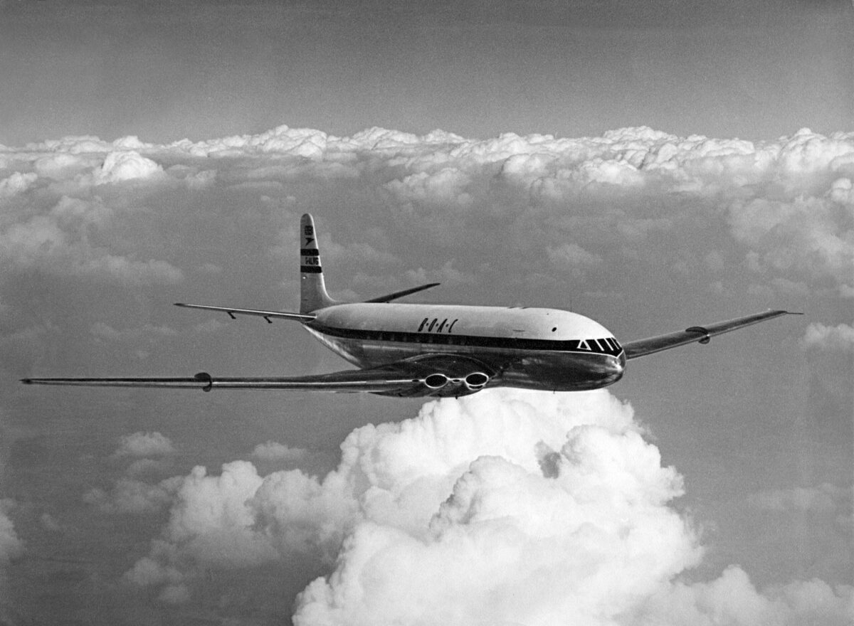 How The De Havilland Comet Kickstarted The Jet Age