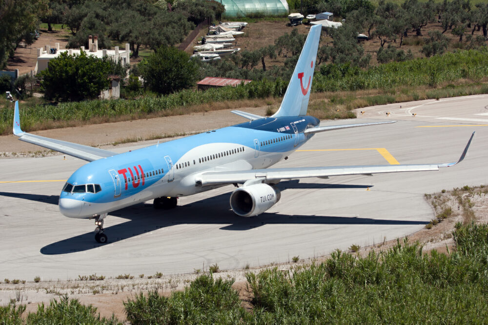TUI Boeing 757 Skiathos Getty