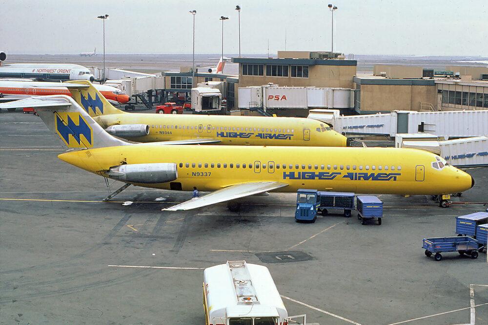 Hughes Airwest DC-9