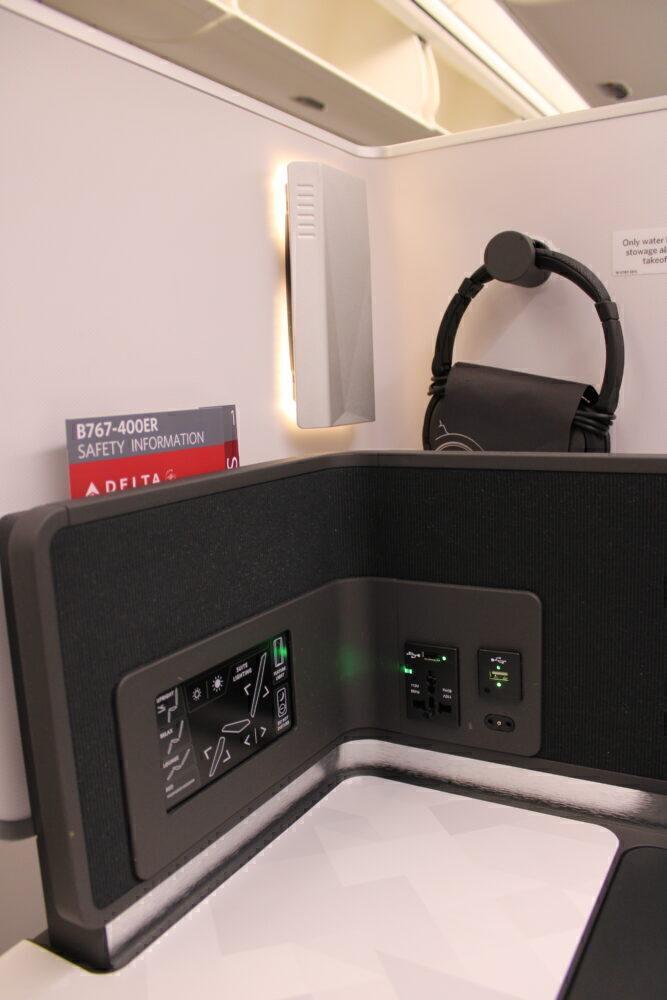 Side control panel