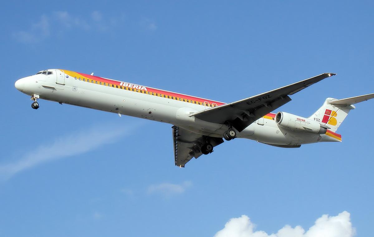 Iberia MD-88